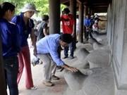 Préserver les stèles en pierre du Temple de la Littérature