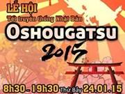 Oshougatsu 2015 : festival du Nouvel An japonais