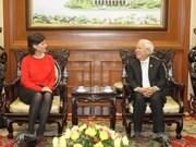Hô Chi Minh-Ville reçoit des hôtes étrangers