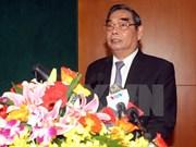 Fin de la conférence nationale de bilan du contrôle et de la supervision du Parti en 2014