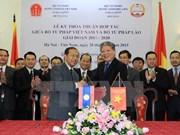 Justice : Vietnam et Laos renforcent leur coopération
