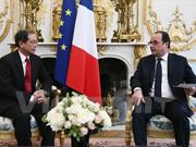 François Hollande : la France souhaite élargir ses relations avec le Vietnam