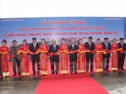 Inauguration de l'aérogare de Vinh