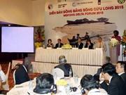 Climat : ouverture du Forum du delta du Mékong 2015