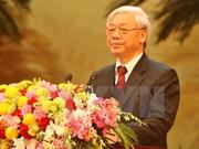 Meeting en l'honneur du 85e anniversaire de la fondation du PCV