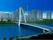 Mise en chantier du pont à hauban Thu Thiem 2