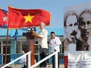 Meeting en l'honneur du 85e anniversaire de la fondation du PCV à Cuba