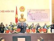 Nguyen Sinh Hung rencontre d'anciens dirigeants de l'AN