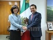Le Mexique s'engage à promouvoir sa coopération avec le Vietnam