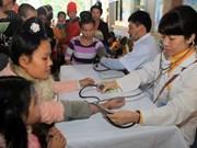 Le Japon s'intéresse à la santé des mères et enfants à Dien Bien