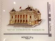 Emission d'une collection de timbres-poste sur le Vietnam