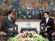 Le Vietnam et le Japon coopèrent sur les soins de santé