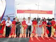Le PM inaugure plusieurs ouvrages à Cà Mau