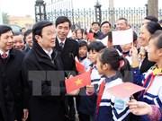 Le chef de l'État visite la province de Hai Duong