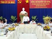 Le PM appelle Ca Mau à mieux exploiter ses atouts