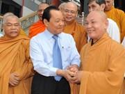 Hô Chi Minh-Ville : voeux du Têt aux bouddhistes