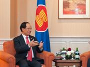 La Russie soutient le rôle central de l'ASEAN