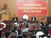 Le chef du gouvernement appelle Dak Nông à exploiter ses atouts naturels