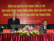 Nguyen Phu Trong appelle à préparer au mieux le congrès national du PCV