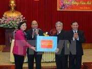 Le vice-Premier ministre Nguyen Xuan Phuc se rend à Yen Bai