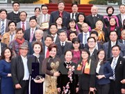 De responsables hanoïens formulent leurs voeux du Têt aux Viet kieu