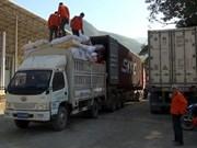Développement des entrepôts de marchandises aux postes-frontières Vietnam-Chine