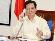 Conversation téléphonique entre les PM du Vietnam et du Japon
