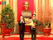 Un vice-président de l'Assemblée nationale promu général de corps d'armée