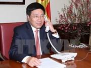 Conversation téléphonique entre Pham Binh Minh et Yang Jiechi