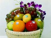 Fruits et légumes bio, les cadeaux du Têt de la Chèvre