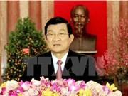 Le chef de l'Etat formule ses vœux du Têt traditionnel au peuple