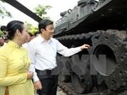 Le président rencontre d'anciens prisonniers révolutionnaires