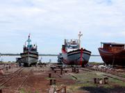 Les services de logistiques de pêche à Nui Thanh