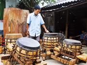 À Nam Dinh, on fabrique des tambours depuis 300 ans
