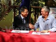 Tourisme géologique : coopération avec l'Australie-Occidentale