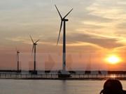 Installation de 52 turbines éoliennes à Bac Lieu