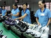 Objectif: 14 millions de dollars d'exportations de chaussures en 2015