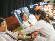 Don du sang : démarrage de la Fête du printemps rouge de 2015