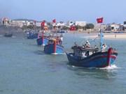 Les pêcheurs de Khanh Hoà partent en campagne au large