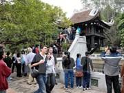 Têt : augmentation du nombre de touristes à Hanoi