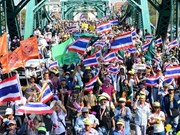 Le parlement thaïlandais adopte un projet de loi limitant les manifestations