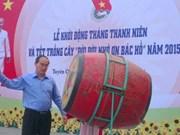 Lancement du mois de la jeunesse 2015 dans la province de Tuyen Quang