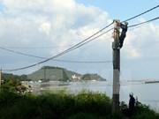 Kien Giang améliore l'accès à l'électricité de sa population
