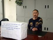 Saisie de 20kg de méthamphétamine à Quang Ninh
