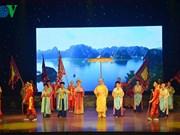 Ouverture d'une soirée poétique à Ha Long