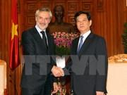 Le PM Nguyen Tan Dung reçoit l'ambassadeur italien