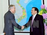 Un vice-PM vietnamien reçoit l'ancien PM britannique Tony Blair
