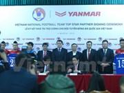 Football : Yanmar (Japon), parrain officiel des sélections nationale et olympique