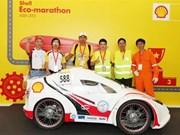 Le Vietnam remporte le titre de champion du Shell Eco-marathon 2015