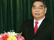 Visite de travail de M. Le Hong Anh à Ca Mau